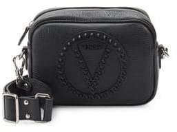 Mario Valentino Mia Studded Leather Crossbody Bag