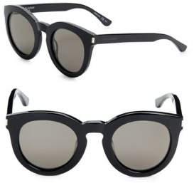 Saint Laurent 47MM Round Sunglasses
