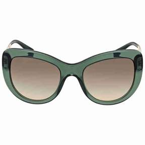 Versace Transparent Green Sunglasses
