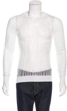 Christian Dior 2007 Distressed Long Sleeve Sweater