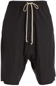 Rick Owens Dropped-crotch shell shorts