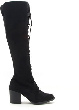Qupid Wilson 18xx Womens Lace Up Boots