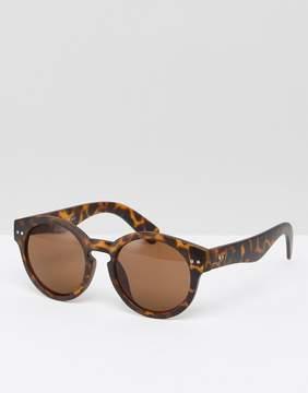 A. J. Morgan AJ Morgan Round Sunglasses In Tort