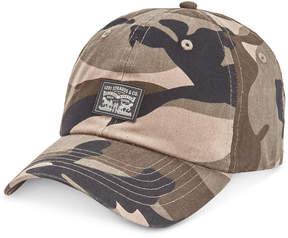 Levi's Men's Camo Snapback Baseball Hat