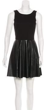 Amanda Uprichard Vegan Leather Mini Dress w/ Tags