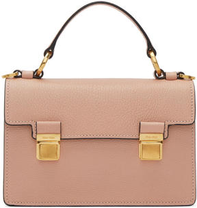 Miu Miu Pink Small Double Lock Bag