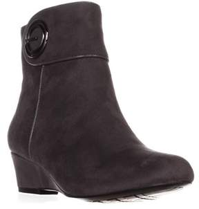 Impo Goya Wedge Ankle Boots, Steel Grey.