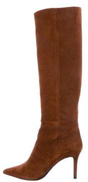 Barbara Bui Suede Pointed-Toe Knee-High Boots