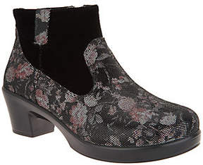 Alegria Leather Side Zip Ankle Boots - Hayden