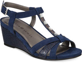 Karen Scott Clarita Wedge Sandals, Created for Macy's Women's Shoes