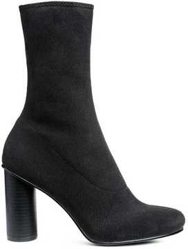 H&M Knit Form-stitched Ankle Boots