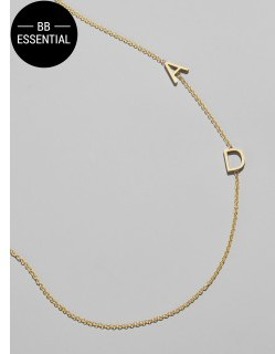 BaubleBar Maya Brenner Asymmetrical Character Necklace