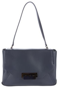 ZAC Zac Posen Eartha Leather Flap Shoulder Bag