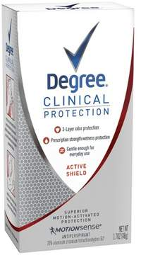 Degree MotionSense Clinical Protection Active Shield Antiperspirant and Deodorant - 1.7oz
