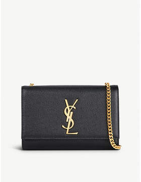 Saint Laurent Kate leather shoulder bag - BLACK - STYLE