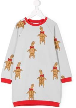 Mini Rodini Turtle print sweatshirt dress