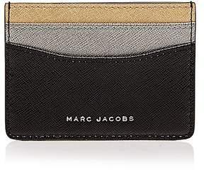 Marc Jacobs Tricolor Saffiano Leather Card Case - BLACK MULTI - STYLE