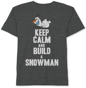 Disney Frozen Olaf-Print T-Shirt, Toddler Boys (2T-5T)