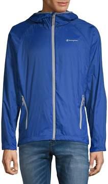 Champion Men's Micro Ripstop Raglan-Sleeve Jacket