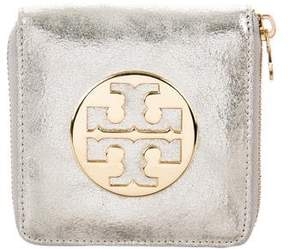 Tory Burch Distressed Compact Wallet