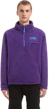 Billionaire Boys Club Oversized Half Zip Fleece Pullover