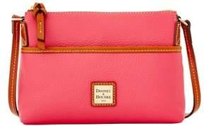 Dooney & Bourke Pebble Grain Ginger Pouchette Shoulder Bag - HOT PINK - STYLE