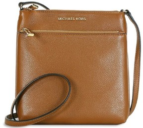 Michael Kors Riley Small Pebbled Leather Crossbody - Brown - 32S5GRLC1L-230 - BROWN - STYLE