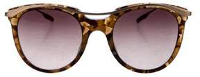 Salt Marbled Cat-Eye Sunglasses