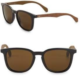 HUGO 52MM Round Sunglasses
