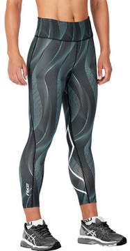 2XU Mid-Rise Print 7/8 Compression Tight with Storage (Women's)