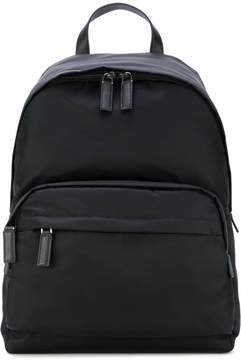 Prada nylon logo backpack
