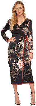 Adelyn Rae Rosanna Wrap Dress Women's Dress