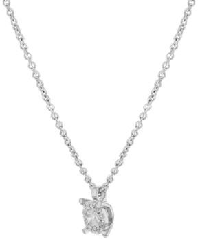 Damiani Bliss 18K White Gold & 0.10 ct Diamonds Pendant Necklace