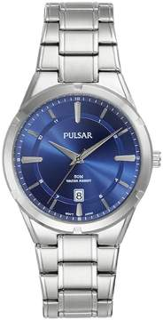 Pulsar Men's Stainless Steel Business Watch - PS9521