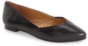 Jack Rogers Women's 'Caroline' Leather Flat