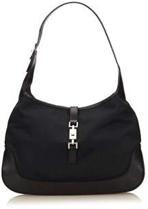 Gucci Pre-owned: Jackie Canvas Shoulder Bag. - BLACK - STYLE