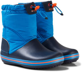 Crocs Ocean and Navy Crocband Lodgepoint Boot