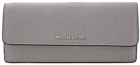 Michael Kors Flat Jet Set Travel Wallet - Pearl Grey - ONE COLOR - STYLE