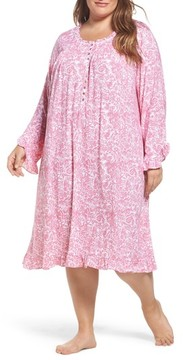 Eileen West Plus Size Women's Waltz Stretch Modal Nightgown