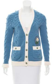 Chanel Paris-Salzburg Wool Cardigan