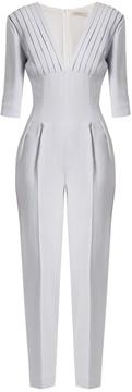 Emilia Wickstead Bela crepe slim-leg jumpsuit