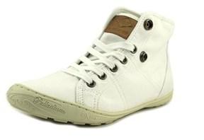 Palladium Gaetane Twl Women Round Toe Leather White Sneakers.
