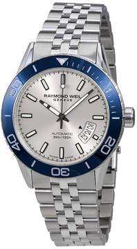 Raymond Weil Freelancer Automatic Silver Dial Men's Watch