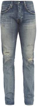 AG Jeans The Matchbox mid-rise relaxed-fit jeans