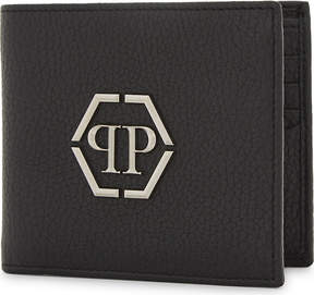 Philipp Plein Mitzrael grained leather wallet