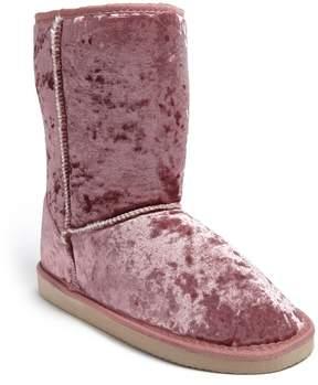 Forever 21 Velvet Vegan Suede Boots