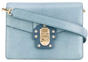 Dolce & Gabbana Dolce E Gabbana Women's Light Blue Leather Shoulder Bag. - BLUE - STYLE