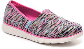 Skechers Girls Pureflex Sporty Chic II Toddler & Youth Slip