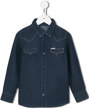 Diesel 'Crindux-NE SB' dotted denim shirt