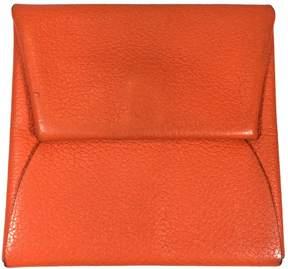 Hermes Leather purse - ORANGE - STYLE